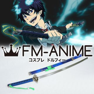 Blue Exorcist Rin Okumura Sword Weapon Prop Cosplay