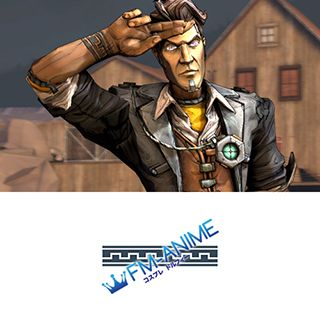 Borderlands 2 Handsome Jack Cosplay Tattoo Stickers