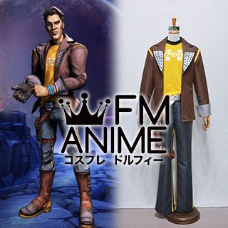 Borderlands: The Pre-Sequel Handsome Jack Timothy the Doppelganger Cosplay Costume