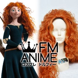 Brave (Disney 2012 film) Merida Cosplay Wig