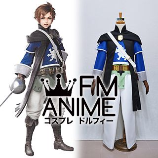 Bravely Second: End Layer Yew Geneolgia Cosplay Costume