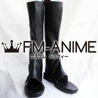 Naruto Ninja Cosplay Shoes Boots (Black)