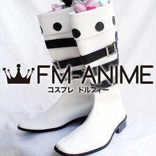 Mabinogi White Cosplay Shoes Boots
