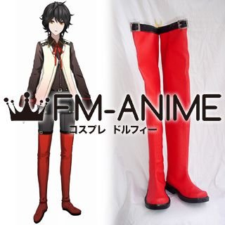 God Eater Burst Ren Cosplay Shoes Boots