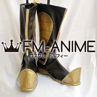 Dynasty Warriors 4 Guan Yu / Kan U Cosplay Shoes Boots