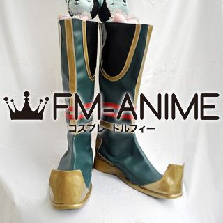 Dynasty Warriors 6 Liu Bei / Ryuu Bi Cosplay Shoes Boots
