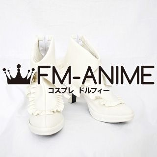 Vocaloid Hatsune Miku Bunny White Rabbit Cosplay Shoes Boots (Design by Rellakinoko)