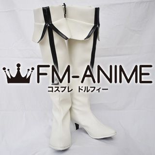 Black Rock Shooter / White Rock Shoote Cosplay Shoes Boots (Figure Version)