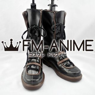 Chrome Shelled Regios Haia Salinvan Lyia Cosplay Shoes Boots