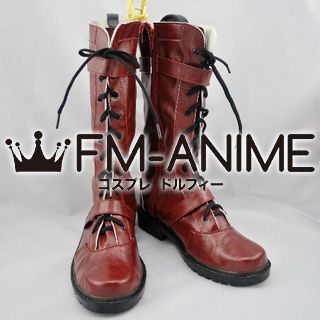 Tiger & Bunny Barnaby Brooks Jr. / Bunny Cosplay Shoes Boots (Dark Red)