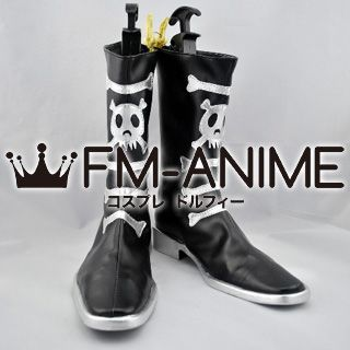 Blue Exorcist Amaimon Cosplay Shoes Boots (Comic Version)