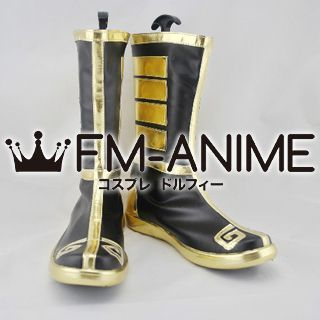 League of Legends Yellow Jacket Shen Skin Cosplay Shoes Boots