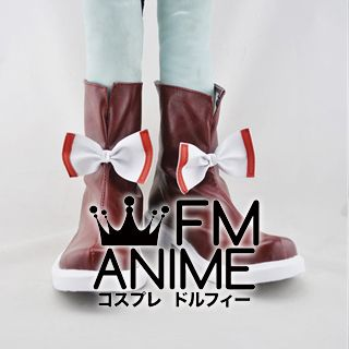 Touhou Project Huziwara no Mokou Cosplay Shoes Boots