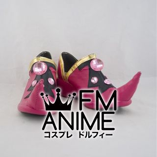 Tsubasa: Reservoir Chronicle Sakura Kingdom of Clow Costume Cosplay Shoes (Pink)