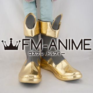 Ixion Saga Dimensional Transfer Kon Hokaze Cosplay Shoes Boots