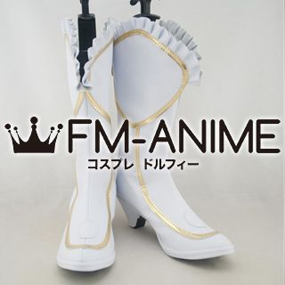 Shining Hearts Rufina (Princess of Wynderia) Cosplay Shoes Boots