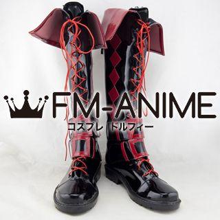 Touhou Project Tenshi Hinanai Dojin Cosplay Shoes Boots (Design by Shigureru)