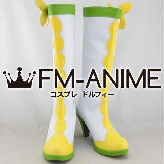 DokiDoki! Precure Alice Yotsuba (Cure Rosetta) Cosplay Shoes Boots