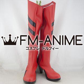Neon Genesis Evangelion Asuka Langley Soryu Cosplay Shoes Boots