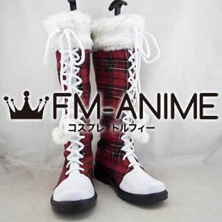 Love Live! Christmas Version Cosplay Shoes Boots