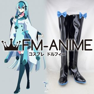 Pokemon Glaceon Personified Cosplay Shoes Boots