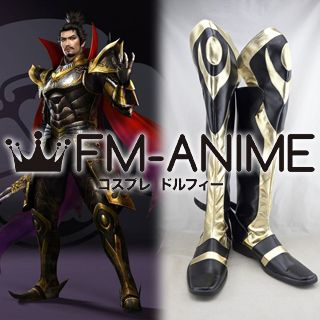 Samurai Warriors 4 Nobunaga Oda Cosplay Shoes Boots