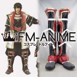 Samurai Warriors 4 Kagetora Uesugi Cosplay Shoes Boots