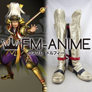 Samurai Warriors 4 Hideyoshi Toyotomi Cosplay Shoes Boots