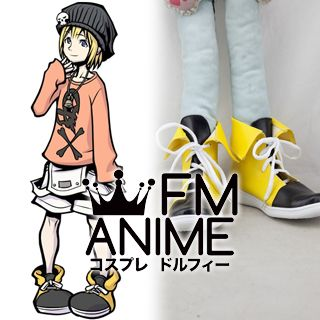 The World Ends with You Raimu Bito Cosplay Shoes Boots