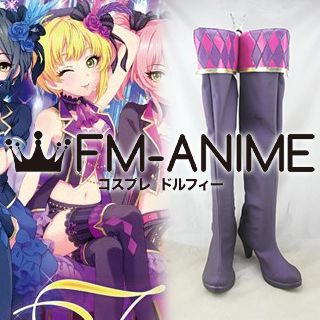 The Idolmaster / THE iDOLM@STER Cinderella Girls Miyamoto Frederica Cosplay Shoes Boots