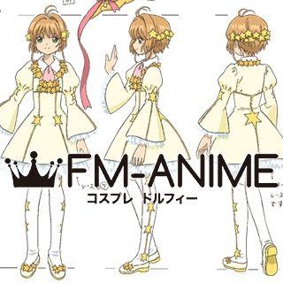Cardcaptor Sakura: Clear Card Sakura Kinomoto Ep 07 Stars Dress Cosplay Costume