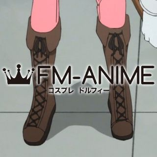 Cells at Work! Eosinophil Brown Cosplay Shoes Boots