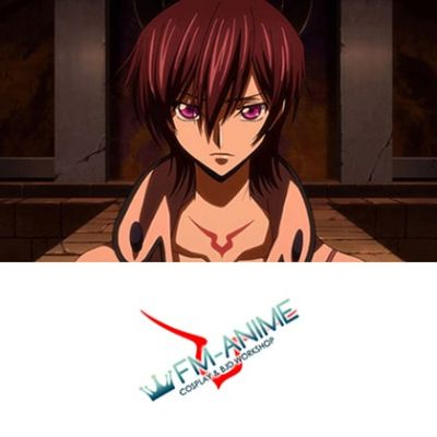 Code Geass: Lelouch of the Re;surrection Lelouch Lamperouge Cosplay Tattoo Stickers