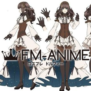 Code: Realize Cardia Beckford Anime Version Dress Cosplay Costume
