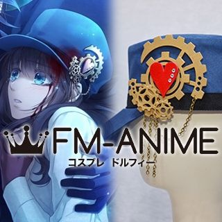 Code: Realize Cardia Beckford Steampunk Alternate Outfit Cosplay Hat Gear Accessories