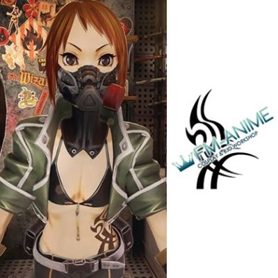 Code Vein NPC Rin Murasame Cosplay Temporary Tattoo Stickers