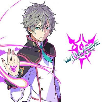 Conception II: Children of the Seven Stars Wake Cosplay Tattoo Stickers