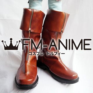 Final Fantasy VII Cloud Strife Cosplay Shoes Boots (Figure Version)
