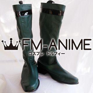 Super Sentai Series Samurai Sentai Shinkenger Chiaki Tani / Shinken Green Cosplay Shoes Boots