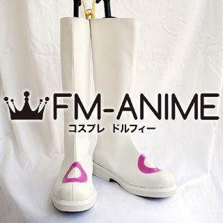Puella Magi Madoka Magica Kyubey Personified Cosplay Shoes Boots