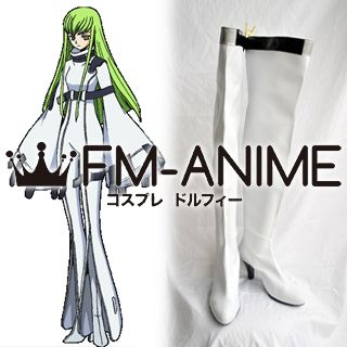 Code Geass: Lelouch of the Rebellion C.C. Cosplay Shoes Boots