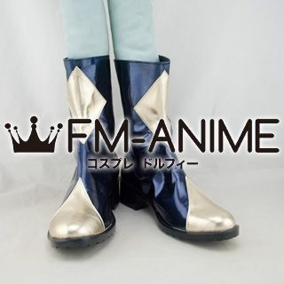Code Geass: Lelouch of the Rebellion Lelouch Lamperouge / Zero Cosplay Shoes Boots (Gold)