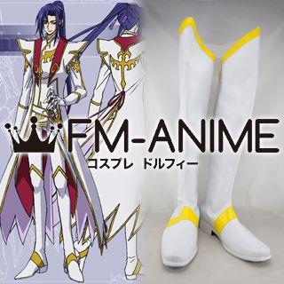 Code Geass: Akito the Exiled Shin Hyuga Shaingu Cosplay Shoes Boots