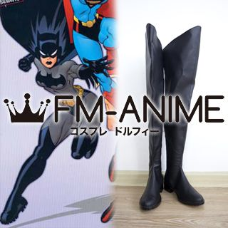 DC Comics Batman (Female) Cosplay Shoes Boots