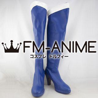 Sailor Moon Ami Mizuno (Sailor Mercury) Cosplay Shoes Boots