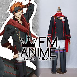 D.Gray-man Hallow Lavi The Black Order Red & Black Military Uniform Cosplay Costume
