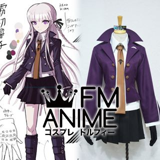 Danganronpa: Trigger Happy Havoc Kyouko Kirigiri Uniform Cosplay Costume