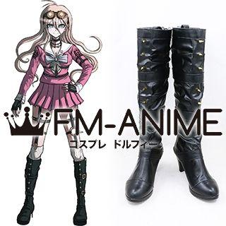 Danganronpa V3: Killing Harmony Miu Iruma Uniform Cosplay Shoes Boots