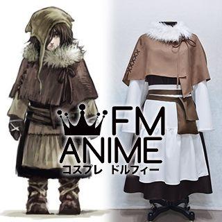 Dark Souls 2 Emerald Herald Child Cosplay Costume