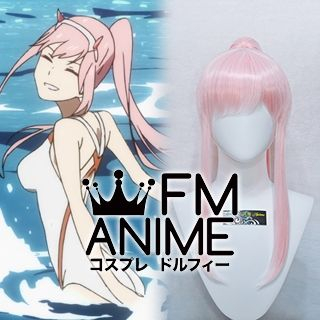 DARLING in the FRANXX Code002 Zero Two 9'℩ Swimsuit Cosplay Wig